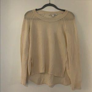 White Diane von Furstenberg sweater